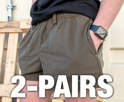 Buy Manitoba Rugged Shorts: 2-Pairs in NZ New Zealand.