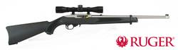 Ruger 10/22 Stainless Synthetic with 4x32 Scope