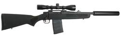 "Buy 308 Mossberg MVP Patrol 16"" Scoped and Silenced Package in NZ New Zealand."