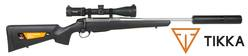 Buy .308 Tikka T3x Ranger 4-12x42 with Ballistic Reticle and Ghost Silencer Package in NZ New Zealand.